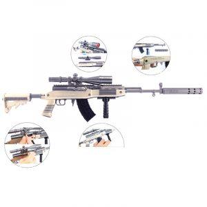 ماکت فلزی اسلحه SKS